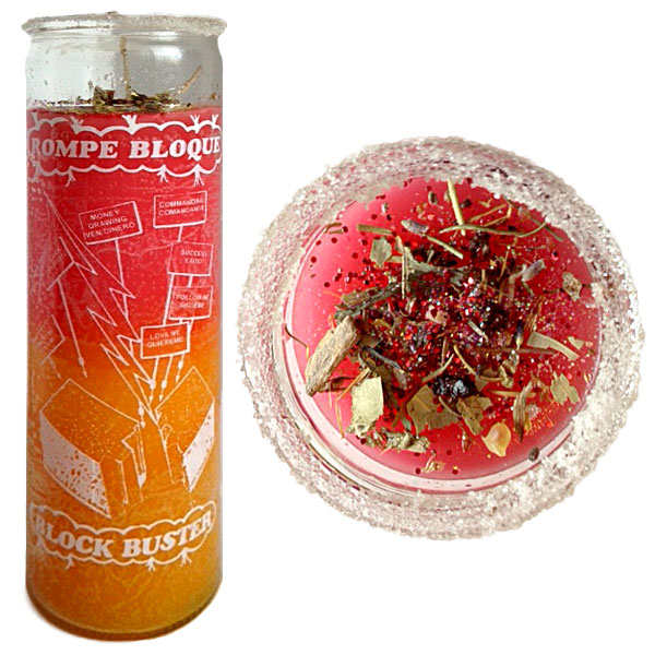 Block Buster Spell Candle, Candle Magic Spells, Spell Candles, remove blocks, blockages, obstacles