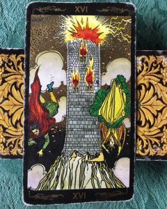Tower card in psychic reading