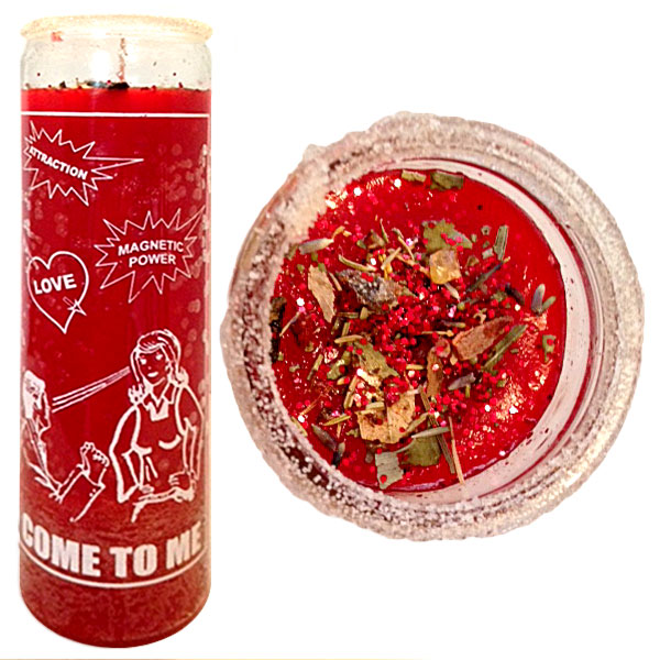 Ven A Mi Spell Candle, Come To Me Candle, candle magic spells, love candle, passion